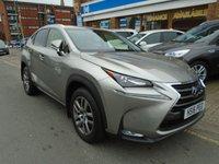 2016 LEXUS NX 2.5 300H LUXURY 5d AUTO 153 BHP £26594.00