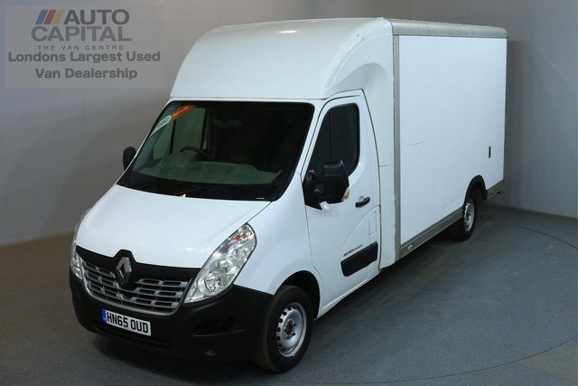 2015 65 RENAULT MASTER 2.3 LL35 BUSINESS 125 BHP L3 LWB LUTON VAN ONE OWNER FROM NEW