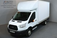 USED 2015 65 FORD TRANSIT 2.2 350 124 BHP L3 LWB TAIL LIFT FITTED  ONE OWNER FROM NEW, SERVICE HISTORY