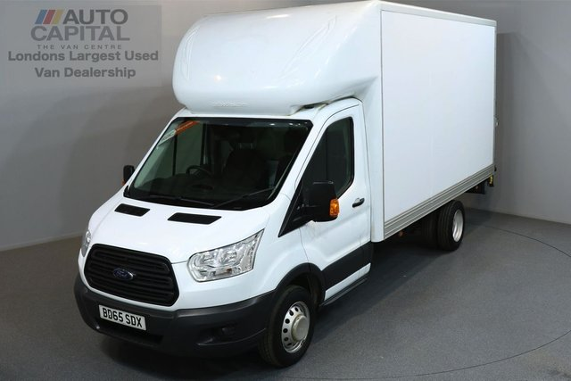 2015 65 FORD TRANSIT 2.2 350 124 BHP L3 LWB TAIL LIFT FITTED  ONE OWNER FROM NEW, SERVICE HISTORY