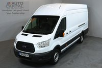 USED 2015 15 FORD TRANSIT 2.2 350 124 BHP L4 H3 EXTRA LWB HIGH ROOF JUMBO ONE OWNER FROM NEW,  L4, EXTRA LONG WHEELBASE