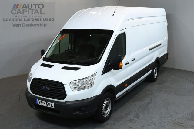 2015 15 FORD TRANSIT 2.2 350 124 BHP L4 H3 EXTRA LWB HIGH ROOF JUMBO ONE OWNER FROM NEW,  L4, EXTRA LONG WHEELBASE