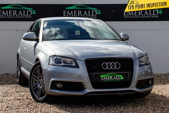 2009 AUDI A3 2.0 TDI S LINE SPECIAL EDITION 3d AUTO 168 BHP £7000.00