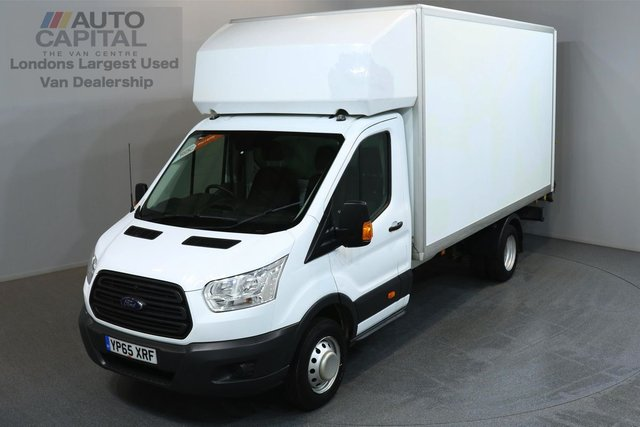 2015 65 FORD TRANSIT 2.2 350 124 BHP L4 EXTRA LWB TAIL LIFT FITTED  ONE OWNER FROM NEW, MOT UNTIL 19/11/2018