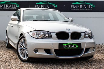 2010 BMW 1 SERIES 2.0 118D M SPORT 5d 141 BHP £6500.00