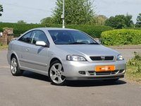 2004 VAUXHALL ASTRA 2.2 BERTONE EDITION 2dr AUTO  £2490.00