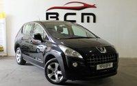 2011 PEUGEOT 3008 1.6 SPORT HDI 5d AUTO 112 BHP £4785.00