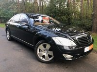 USED 2006 06 MERCEDES-BENZ S CLASS 5.5 S500 L 4d AUTO 383 BHP REDUCED BY £1000 - SAT NAV - REVERSE CAMERA - ELECTRIC SUNROOF - KEYLESS ENTRY - NIGHT VISION & MUCH MORE!