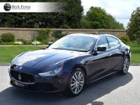 USED 2015 15 MASERATI GHIBLI 3.0 V6 4d AUTO 330 BHP