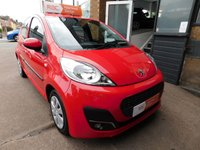 USED 2014 PEUGEOT 107 1.0 ACTIVE 5d AUTO 68 BHP