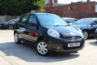 USED 2012 62 NISSAN MICRA 1.2 ACENTA 5d 79 BHP * LOW MILEAGE * £30 ROAD TAX * BLUETOOTH