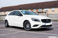 USED 2014 63 MERCEDES-BENZ A CLASS 1.8 A200 CDI BLUEEFFICIENCY SPORT 5d 136 BHP