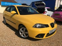 2007 SEAT IBIZA 1.2 REFERENCE SPORT 12V 5d 69 BHP £3495.00