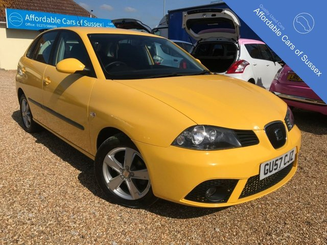 2007 57 SEAT IBIZA 1.2 REFERENCE SPORT 12V 5d 69 BHP