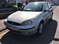USED 2003 03 FORD FOCUS 1.8 ZETEC 5d 113 BHP