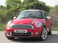 2012 MINI HATCH COOPER 1.6 COOPER D LONDON 2012 EDITION 3d 110 BHP £7995.00