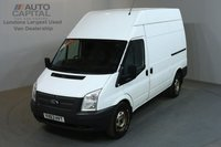 USED 2013 63 FORD TRANSIT 2.2 350 124 BHP L2 H3 MWB HIGH ROOF AWD ALL-WHEEL DRIVE ONE OWNER, SERVICE HISTORY