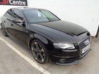 2010 AUDI A4 2.0 TDI S LINE SPECIAL EDITION 4d 141 BHP £8975.00