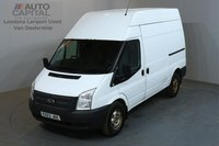 USED 2013 63 FORD TRANSIT 2.2 350 124 BHP L2 H3 MWB HIGH ROOF AWD ONE OWNER FROM NEW, SERVICE HISTORY