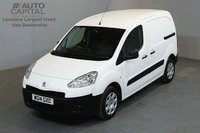 USED 2014 14 PEUGEOT PARTNER 1.6 HDI 850 89 BHP L1 H1 SWB LOW ROOF ONE OWNER FROM NEW, FULL SERVICE HISTORY