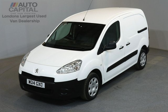 2014 14 PEUGEOT PARTNER 1.6 HDI 850 89 BHP L1 H1 SWB LOW ROOF ONE OWNER FROM NEW, FULL SERVICE HISTORY