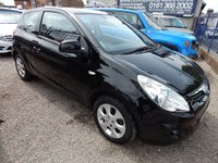 USED 2010 10 HYUNDAI I20 1.2 COMFORT 3d 77 BHP AIR CONDITIONIG, ALLOY WHEELS, FULL HYUNDIA SERVICE HISTORY
