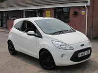 2015 FORD KA 1.2 ZETEC WHITE EDITION 3dr £5790.00