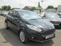 USED 2014 14 FORD FIESTA 1.6 TITANIUM X TDCI 5d 94 BHP FREE ROAD TAX - FULL SERVICE HISTORY ( SEE PHOTO'S )