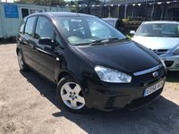 2008 FORD C-MAX 1.6 STYLE 5d 100 BHP £3995.00