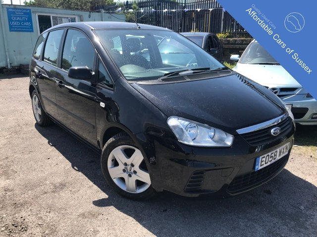 2008 58 FORD C-MAX 1.6 STYLE 5d 100 BHP