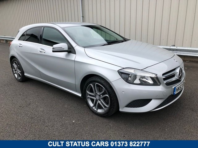 2014 63 MERCEDES-BENZ A CLASS 1.6 A180 BLUEEFFICIENCY SPORT 5d 122 BHP