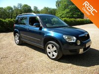 USED 2012 12 SKODA YETI 2.0 SE TDI CR DSG 5d AUTO 138 BHP Low Mileage Automatic Car. 4x4 , Good MPG