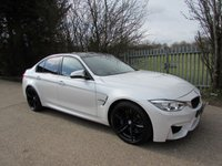 2014 BMW M3 3.0 M3 4d AUTO 426 BHP Red Leather / Carbon Roof  / HUD £33995.00