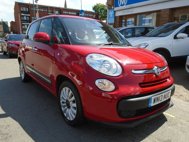 2013 13 FIAT 500L 1.2 MULTIJET POP STAR 5d 85 BHP