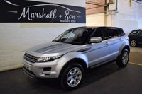 USED 2012 62 LAND ROVER RANGE ROVER EVOQUE 2.2 TD4 PURE 5d 150 BHP 4X4