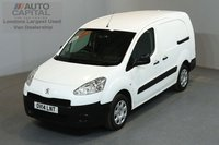 USED 2014 14 PEUGEOT PARTNER 1.6 HDI 90 BHP MWB LOW ROOF 5 SEATER COMBI VAN   ONE OWNER FROM NEW, FULL SERVICE HISTORY