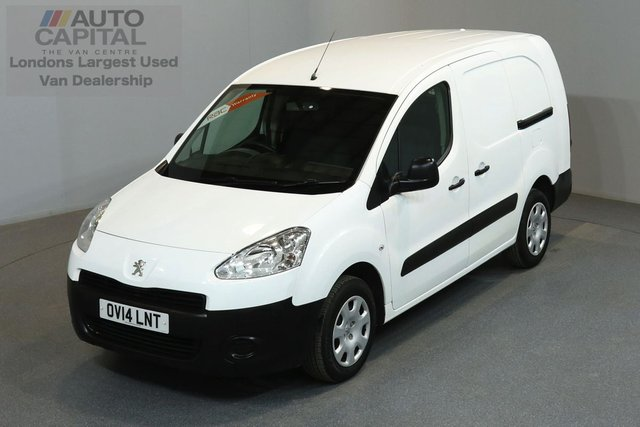 2014 14 PEUGEOT PARTNER 1.6 HDI 90 BHP MWB LOW ROOF 5 SEATER COMBI VAN   ONE OWNER FROM NEW, FULL SERVICE HISTORY