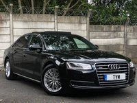 USED 2017 17 AUDI A8 3.0 L TDI QUATTRO SE EXECUTIVE 4d AUTO 258 BHP 1 OWNER+LOW MILES+AS NEW CAR