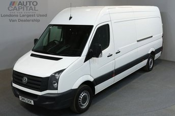 2015 VOLKSWAGEN CRAFTER 2.0 CR35 TDI 135 BHP L3 H3 LWB HIGH ROOF £10890.00