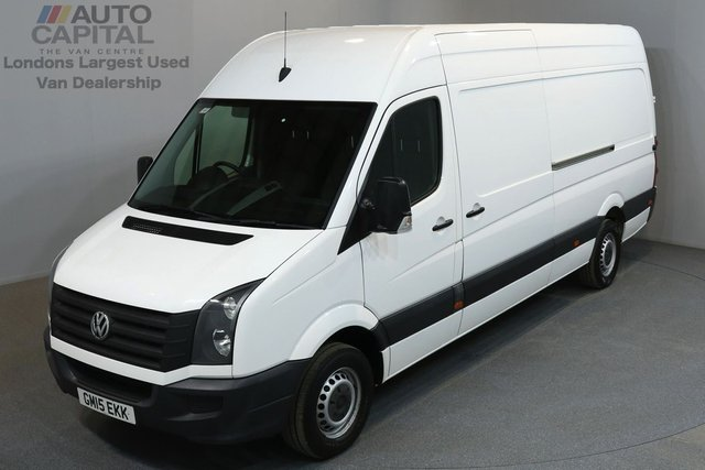 2015 15 VOLKSWAGEN CRAFTER 2.0 CR35 TDI 135 BHP L3 H3 LWB HIGH ROOF FULL SERVICE HISTORY