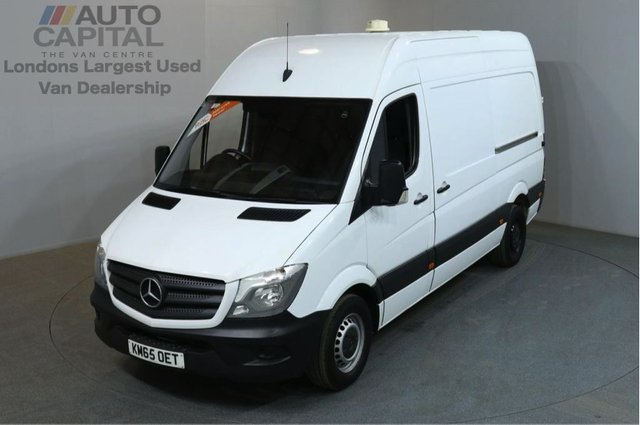2015 65 MERCEDES-BENZ SPRINTER 2.1 313 CDI MWB 129 BHP H/ROOF RWD VAN ONE OWNER FULL S/H SPARE KEYS