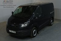 USED 2014 64 FORD TRANSIT CUSTOM 2.2 270 99 BHP L1 H1 SWB LOW ROOF ONE OWNER FROM NEW, SERVICE HISTORY