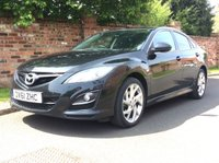 USED 2011 61 MAZDA 6 2.0 TAKUYA 5d 155 BHP FULL SERVICE HISTORY, 1YR MOT, 2 OWNERS,  EXCELLENT CONDITION, ALLOYS, CLIMATE, BLUETOOTH, CRUISE, FOGS, RADIO CD, E/WINDOWS, R/LOCKING, FREE WARRANTY, FINANCE AVAILABLE, HPI CLEAR, PART EXCHANGE WELCOME,