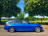 2014 BMW 3 SERIES 3.0 335D XDRIVE M SPORT TOURING 5d AUTO 309 BHP £19995.00