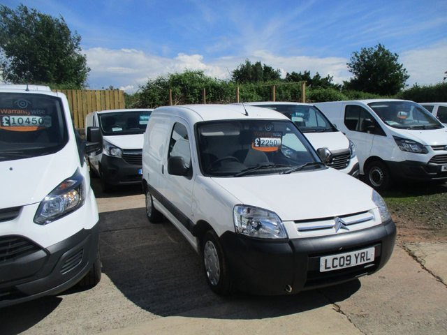 2009 09 CITROEN BERLINGO 1.6 FIRST HDI 1d 75 BHP 1.6 hdi diesel