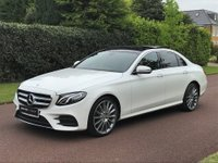 USED 2017 66 MERCEDES-BENZ E-CLASS 2.0 E220d AMG Line 9G-Tronic (s/s) 4dr PREMIUM PACK+PANROOF+REV CAM++