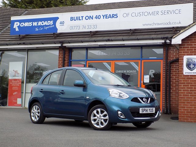 USED 2014 14 NISSAN MICRA 1.2 ACENTA 5dr