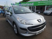 USED 2007 07 PEUGEOT 207 1.6 SE 5d 118 BHP £0 DEPOSIT FINANCE DEALS AVAILABLE...CALL 01543 877320