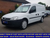 2008 VAUXHALL COMBO 2000 1.3 CDTi Direct From BT With History £2995.00
