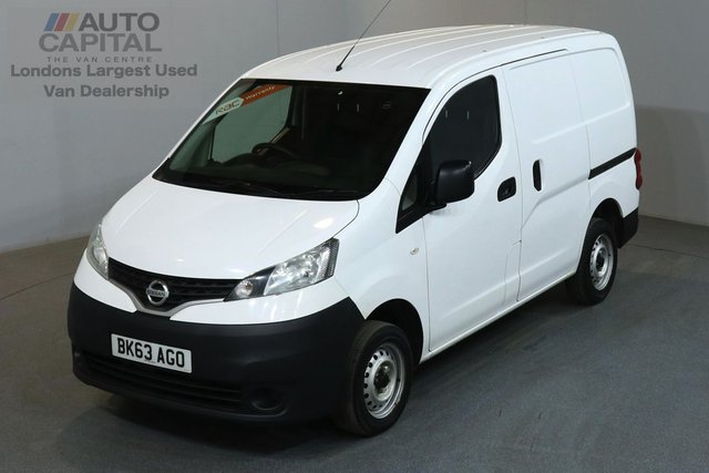 2013 63 NISSAN NV200 1.5 SE DCI 89 BHP SWB REVERSE CAMERA ONE OWNER, SERVICE HISTORY